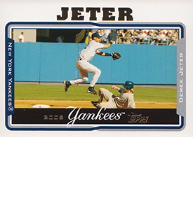 Derek Jeter Topps Cards Through the Years 7