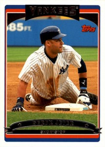 Derek Jeter Topps Cards Through the Years 19