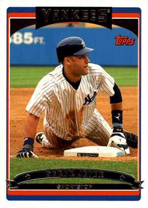 Derek Jeter Topps Cards Through the Years 14
