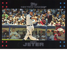 Derek Jeter Topps Cards Through the Years 8