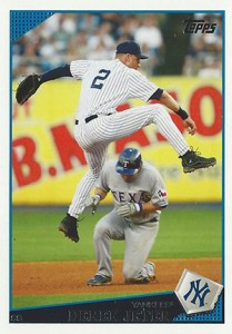 Derek Jeter Topps Cards Through the Years 9