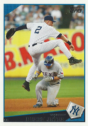 Derek Jeter Topps Cards Through the Years 17