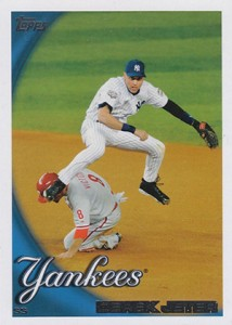 Derek Jeter Topps Cards Through the Years 21
