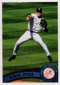 Derek Jeter Topps Cards Through the Years 10