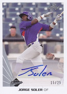Soler Flair: The Top Jorge Soler Prospect Cards 3