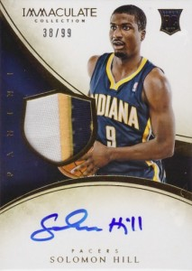 2013-14 Immaculate RPA 114 Solomon Hill