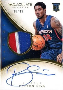 2013-14 Immaculate RPA 120 Peyton Siva