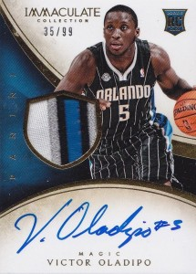 2013-14 Immaculate RPA 136 Victor Oladipo