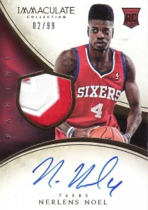 Nerlens Noel Visual Rookie Card Guide and Checklist 6