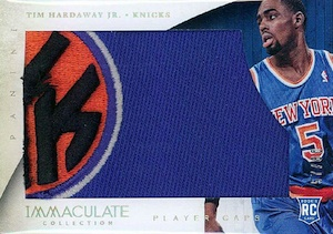 2013-14 Panini Immaculate Collection Basketball Player Caps Tim Hardaway Jr.