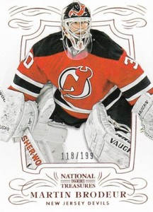 2013-14 Panini National Treasures Hockey Cards 24