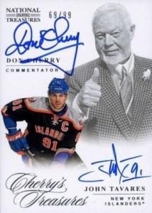 2013-14 Panini National Treasures Hockey Cherry's Treasures