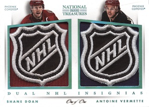 2013-14 Panini National Treasures Hockey Cards 33