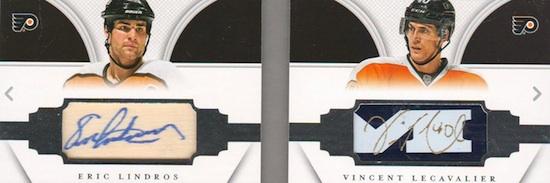 2013-14 Panini National Treasures Hockey Dual Sitck Bookley Autograph
