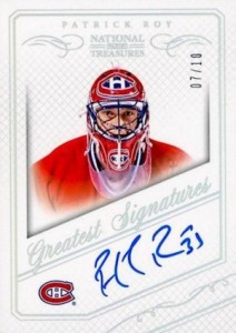 2013-14 Panini National Treasures Hockey Greatest Signatures
