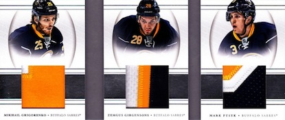 2013-14 Panini National Treasures Hockey Cards 42