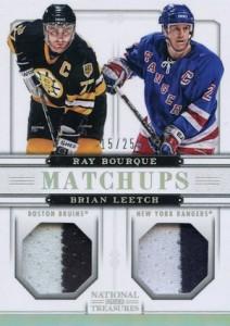 2013-14 Panini National Treasures Hockey Cards 42