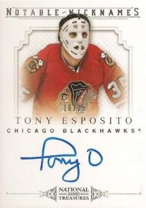 2013-14 Panini National Treasures Hockey Notable Nicknames