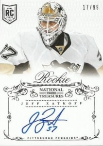 2013-14 Panini National Treasures Hockey Cards 25
