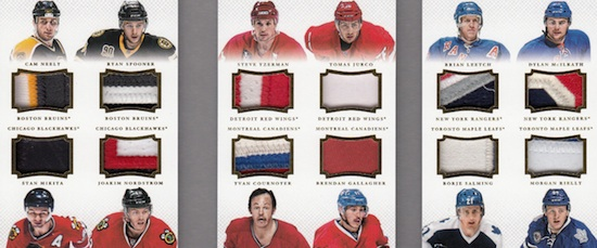 2013-14 Panini National Treasures Hockey Cards 61