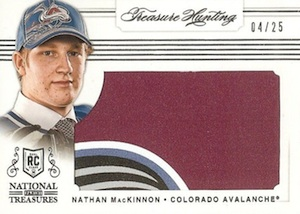 2013-14 Panini National Treasures Hockey Cards 65