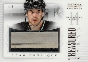 2013-14 Panini National Treasures Hockey Cards 66