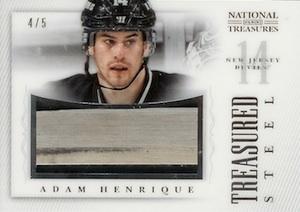 2013-14 Panini National Treasures Hockey Treasured Steel