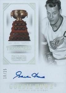 2013-14 Panini National Treasures Hockey Treasured Trophies Autographs Art Ross