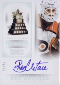 2013-14 Panini National Treasures Hockey Treasured Trophies Autographs Conn Smythe