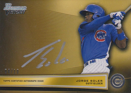 Soler Flair: The Top Jorge Soler Prospect Cards 8