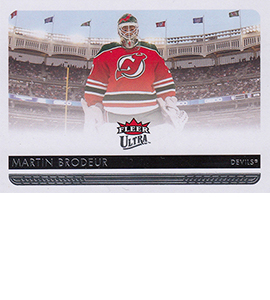 2014-15 Fleer Ultra Variations 112 Martin Brodeur 270x300