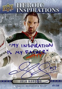 2014-15 O-Pee-Chee Heroic Inspirations Autograph