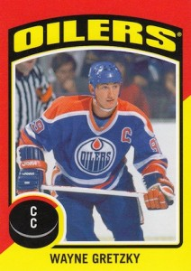2014-15 O-Pee-Chee Hockey OPC Stickers Gretzky