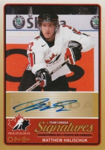 2014-15 O-Pee-Chee Hockey Team Canada Signatures
