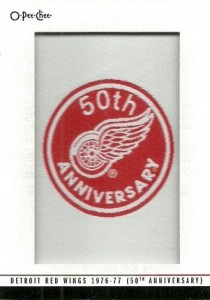 2014-15 O-Pee-Chee Hockey Team Logo Patches Anniversary