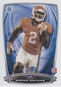 Sammy Watkins Rookie Card Guide and Checklist 1