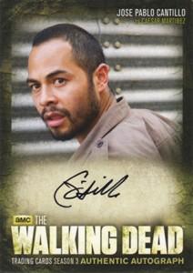 2014 Cryptozoic Walking Dead Season 3 Part 2 Autographs A17