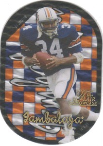 2014 Flair Showcase Football Jambalaya Bo Jackson