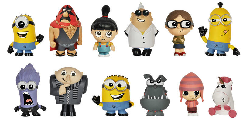2014 Funko Despicable Me Mystery Minis Info, Checklist, More