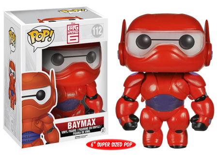 2014 Funko Pop Big Hero 6 112 Baymax
