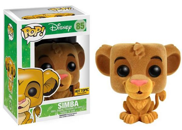2014 Funko Pop Lion King Flocked Simba
