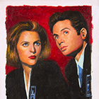 2014 IDW Limited X-Files Annual Sketch Cards