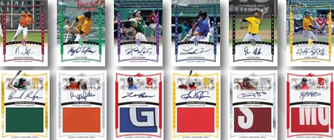2014 Leaf Perfect Game Showcase Baseball Cards 3