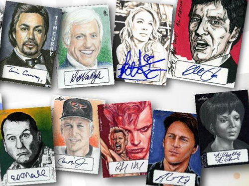 2014 Leaf Pop Century Masterworks Trading Cards 1