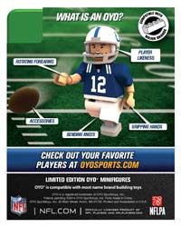 2014 OYO NFL Generation 2 Football Minifigures 2
