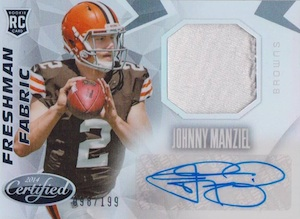 Johnny Manziel Cards, Rookie Cards, Key Early Cards and Autographed Memorabilia Guide 29