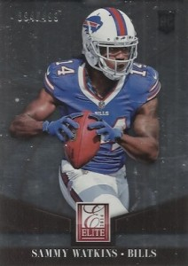 Sammy Watkins Rookie Card Guide and Checklist 33