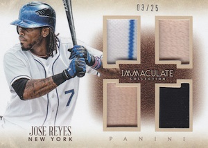 2014 Panini Immaculate Baseball Cards 43