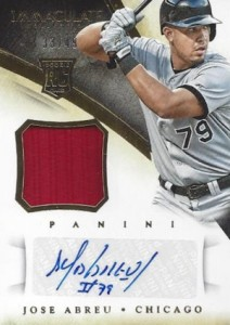 2014 Panini Immaculate Baseball Cards 20