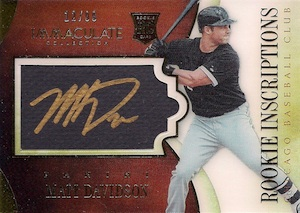 2014 Panini Immaculate Baseball Cards 25